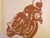 Brown Bike