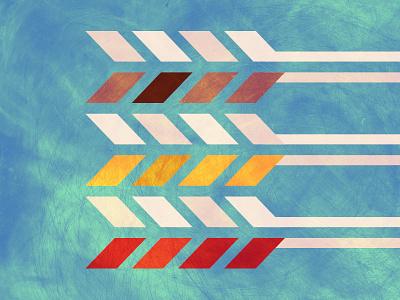 Mod Arrows  arrows okie oklahoma monowidth minimal mark logo thicklines