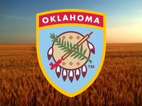 Osage Shield Patch
