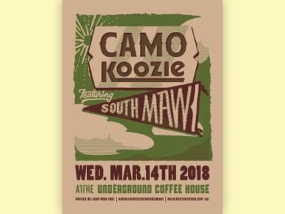Camo Koozie + South Maw