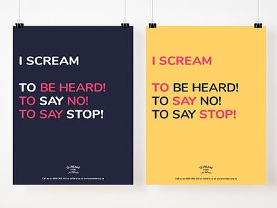 Scream For I Scream! child sexual abuse campaign awareness social