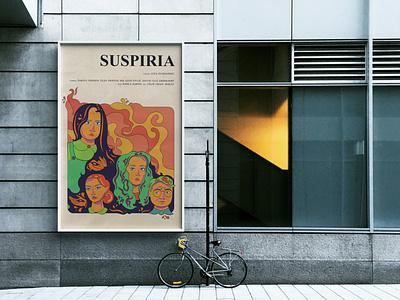 Suspiria (2018) Film Poster graphic design poster prop design poster design illustration movie film fantasy