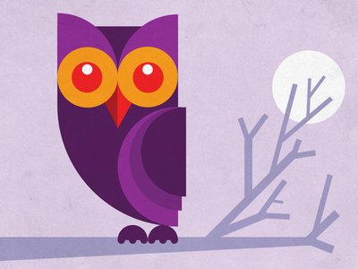 Geometric Owl illustration owl memmory drawing wise vector