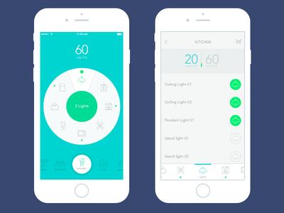 Homekit iOS app (WIP)