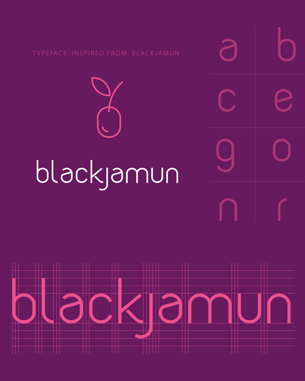 Blackjamunfont 2x