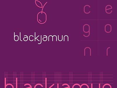Blackjamun Typeface (WIP) illustration vector font typeface creation font creation purple blackjamun text font typeface