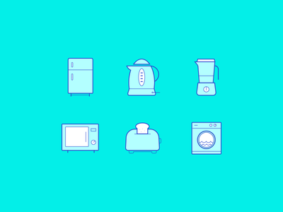 Kitchen Icons Freebie vector icons outline line icons icons freebie kitchen icons