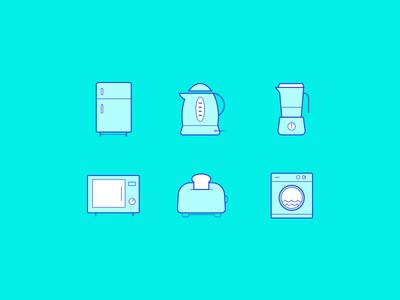 Kitchen Icons Freebie