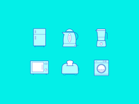 Kitchen Icons Freebie