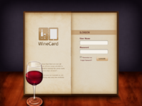 Menu card  login by jobypv d4vvu1v