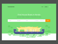Houseboat booking website (WIP)