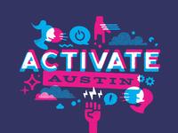 Activate Austin Banner