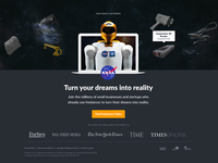 Nasa Footer Block