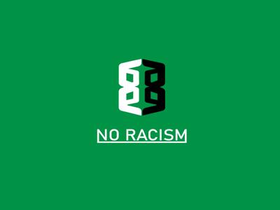 NO RACISM graphic design illustration fiverr design a logo logo branding creative logo design how to design a logo logo designer graphic designer how to design logo