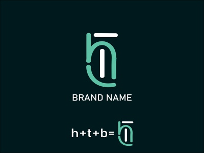 H+T+B Brand logo design fiverr illustration creative logo design graphic design logo designer ui design a logo how to design logo graphic designer how to design a logo