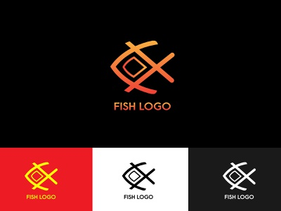 Fish logo branding graphic design fiverr logo how to design logo design a logo logo designer graphic designer how to design a logo creative logo design