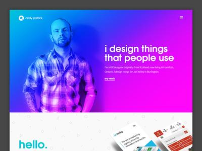 Portfolio Redesign design ux website portfolio