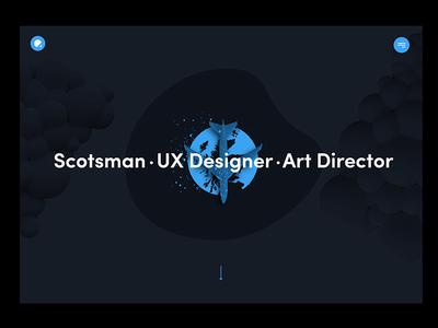 Folio New Colour Scheme shapes portfolio web design website folio ux