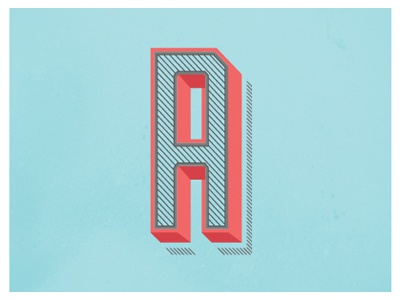 Andley Dribbble Study free font letter typography type lettering