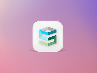 Big Sur Icon apple ios app icon 3d ui logo branding icon big sur