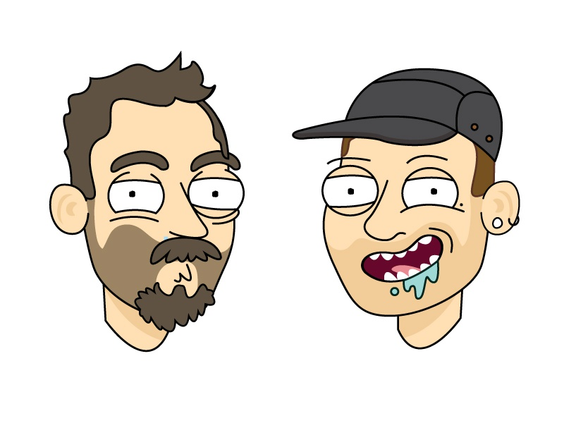 Welcome to the Citadel  character beard paul amerson hat rick and morty person illustration