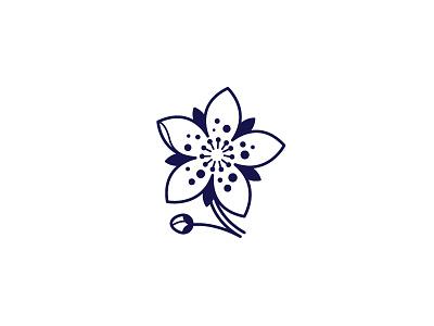 Blossom  tattoo japanese apple blossom branding illustration cherrie blossom flower