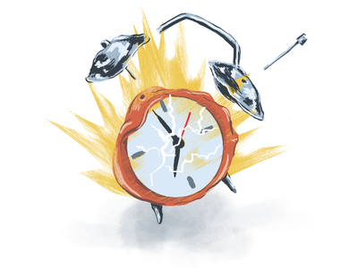 Screw you, mornings alarm clock mornings exploding