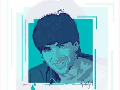 Akshay Kumar Portrait box artwork handsome man bold india hindi kumar akshay bollywood vector illustration vectorart vector flat portraits portrait art portrait illustration art illustration adobe illustrator