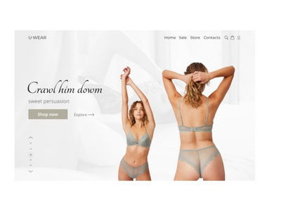 Third shot web minimal website web design uiux