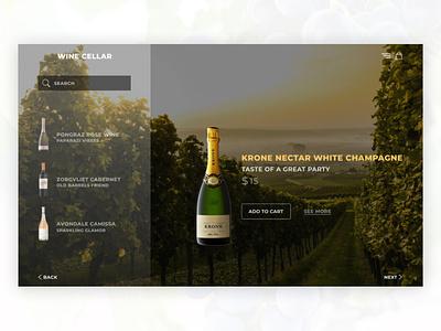 Wine store website branding logo illustration design web design ux website web ui minimal