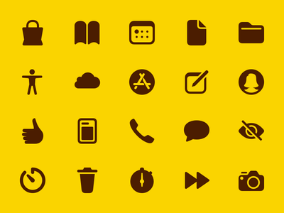 Essential Glyphs free svg sketch solid bold glyphs icons pack