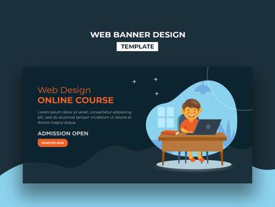 Web Banner Design Template digital corporate ui template website design social media design webdesing webbanner design branding business creative