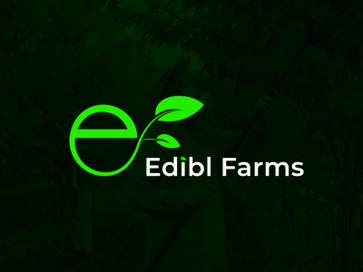 Vegetable Farms logo modern logo food foodlogo farming farmers market vector ux ui clean branding design logo corporate creative farmer farms