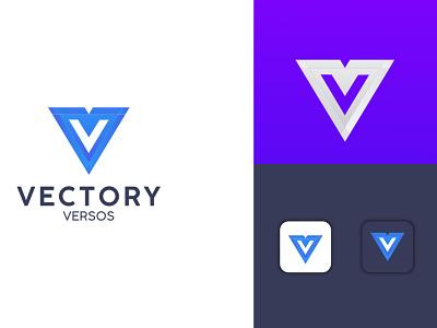 Vectory logo Design branding creative logo ai vector abstract monogram corporate logo brand identity design business logo modern logo design logo ideas modern logo logo trend 2021