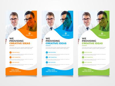 Rack Card Design or DL Flyer Design creative template design corporate flyer design business flyer corporate flyer leaflet rack card business flyer brochure postcard dl flyer