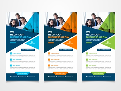 Business Rack Card & DL Flyer Design postcard business design corporate rack card design corporate rack card corporate flyer