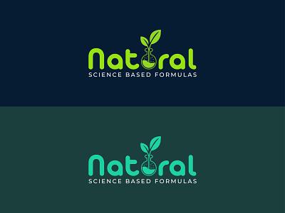Natural logo design logodesign design ogranic green minimal abstract logo natural organics naturallogo healthy leaf eco branding organic