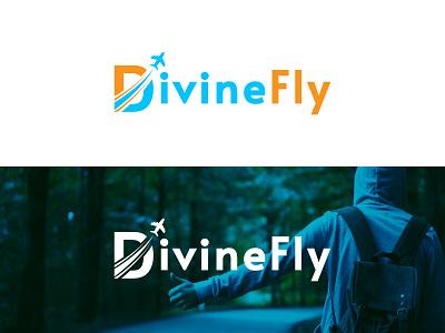 Divinefly logo design travellogo tour logo travel agency logo plane logo travel agency traveling logo design app logo tourism logo aircraft logo aeroplane logo