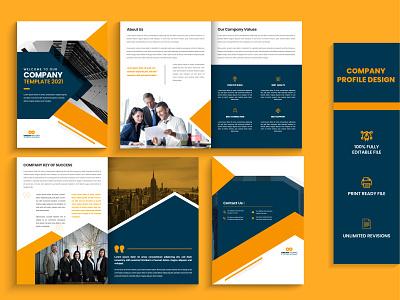 Company profile | Business proposal | Magazine design design corporate flyer design graphic design template buiness brochure trifold brochure business proposal brochure design branding magazine design company profile