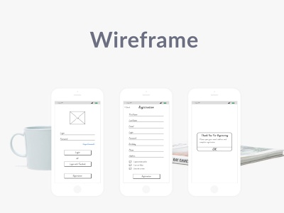 Registration form ui apple figma logo profile app design ios account wireframing