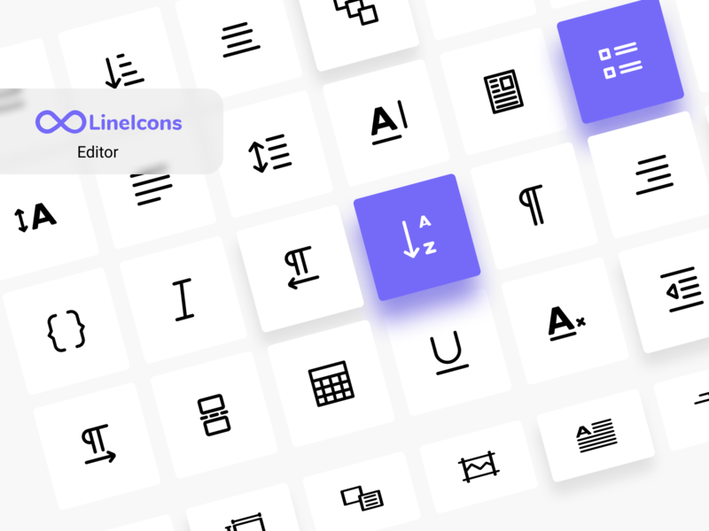 Text Editor Icons icon design icon pack vector ux iconset line icons svg icons text editor editor