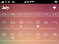 Calendar red