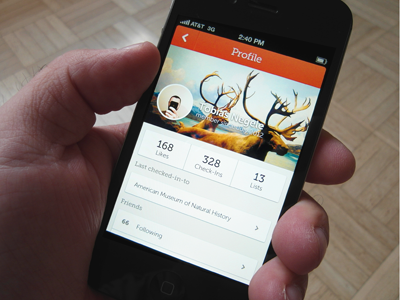 Mused Profile museum iphone app application profile