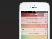 ...calendar app is back!