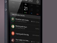 capp - iPhone calendar app details