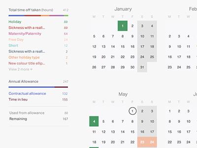 Timetastic calendar reporting information design timetastic report calendar