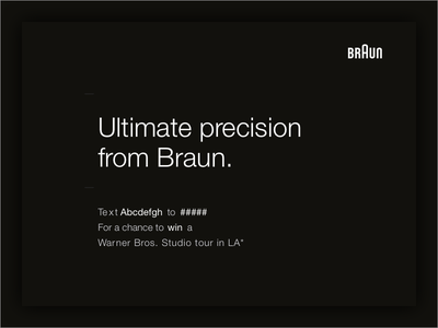 Braun helvetica grey gray black dark minimal braun marketing