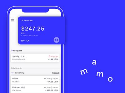 iOS Concept blockchain app ios personal finance finance banking