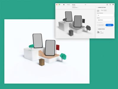 Bokoya - 3D Rendering.