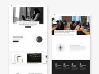 Redesigning Company's Website